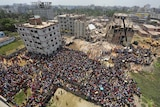 Collapsed factory in Bangladesh