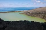 Tonga's newest volcanic island