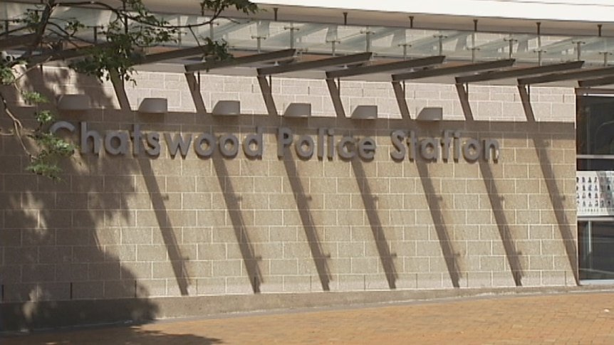 Signage at the ront of Chatswood Police Station.