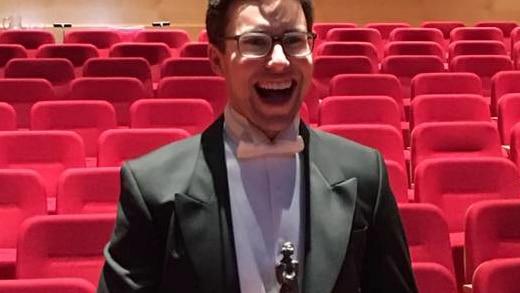 Opera singer Nicholas Tolputt