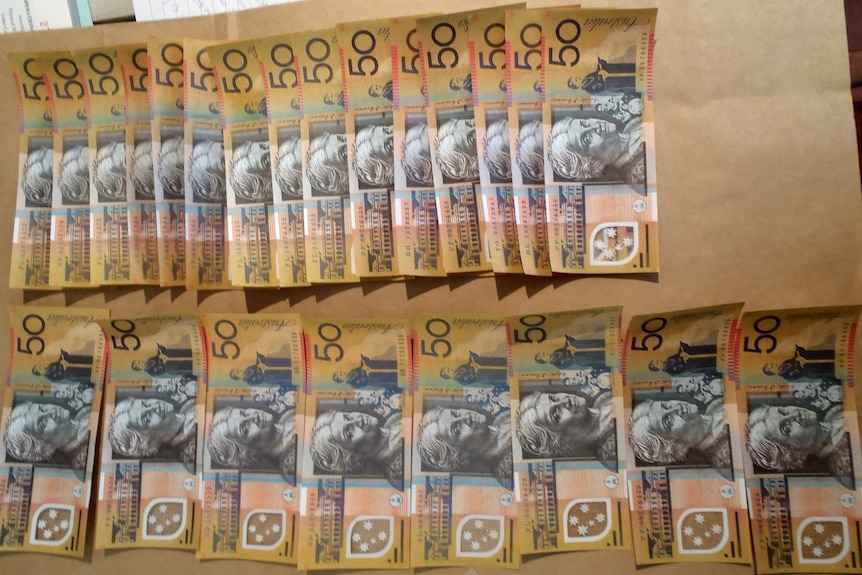 Counterfeit money seized in Perth