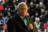 Fiji's prime minister Frank Bainimarama