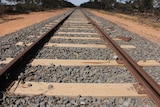 An old broad gauge rail track in Victoria's west.