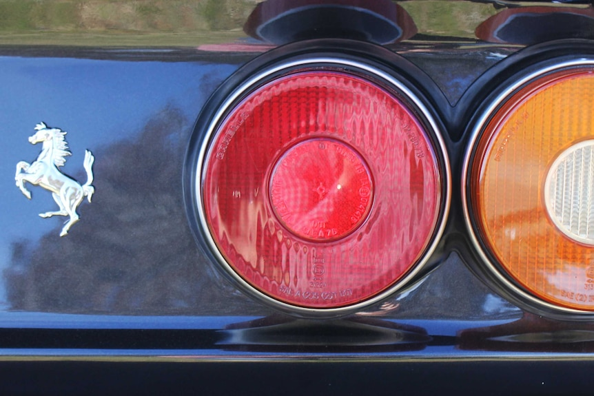 412 rear lights and badge.