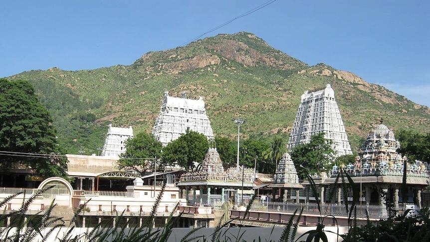 Annamalaiyar Temple in Tiruvannamalai.