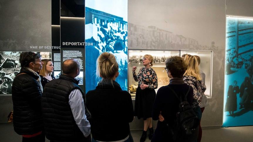 Education talks at Sydney Jewish Museum