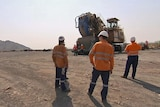 FIFO workers on site