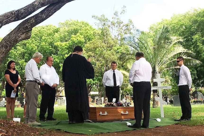 Russian royal buried in Darwin