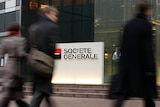 French bank Societe Generale in La Defense, outside Paris
