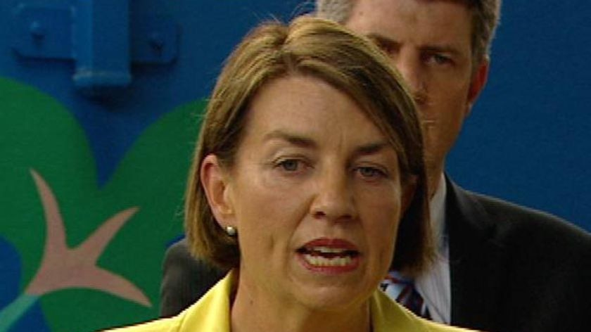 The poll will be Ms Bligh's first election as Labor leader.