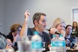 Startup Weekend Brisbane judge and entrepreneur Steve Baxter