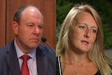 A composite image of Tim Argall and Nicola Gobbo