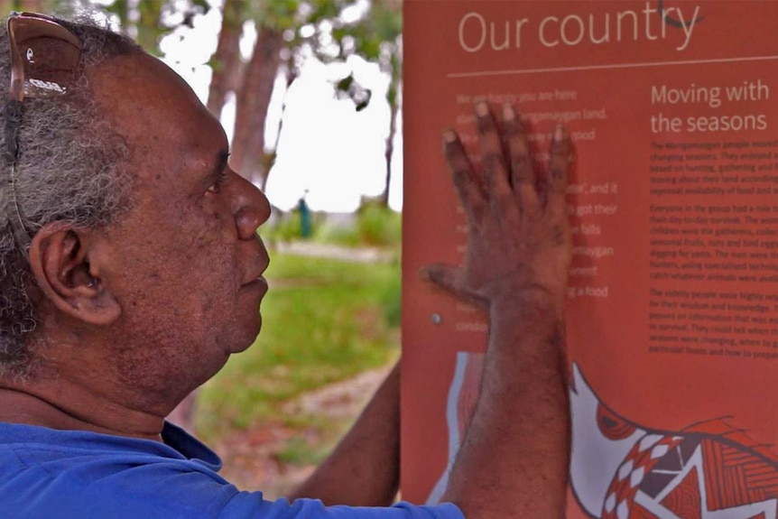 Warrgamay custodians collaborate with Queensland Parks and Wildlife Services to put language back on country.