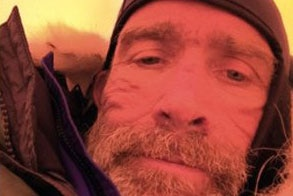 Explorer Henry Worsley in a tent in Antarctica in a selfie posted just days before his death, January 2016