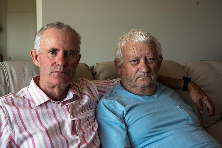 Tasmanian men Paul O'Halloran and brother Stephen O'Halloran