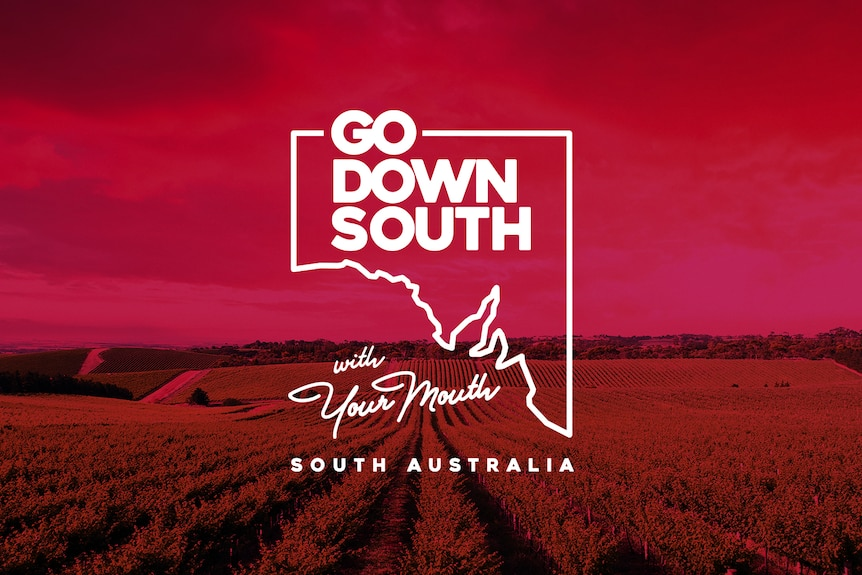 A tongue-in-cheek promotional image for South Australia.