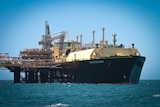 Asia Excellence with first shipment of LNG from  Gorgon Mar 2016