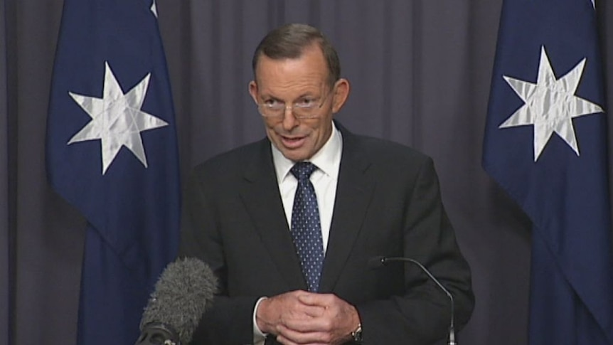 In 2015 Tony Abbott said 'this is the last term in which the Coalition party room can be bound' on same-sex marriage.