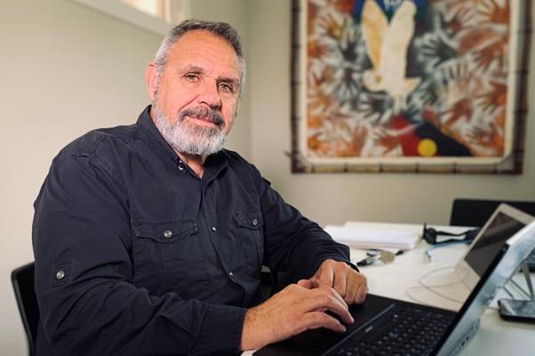 Professor James Ward at the University of Queensland's Poche Centre