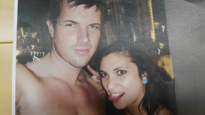 A photograph of Gable Tostee and Warriena Wright.