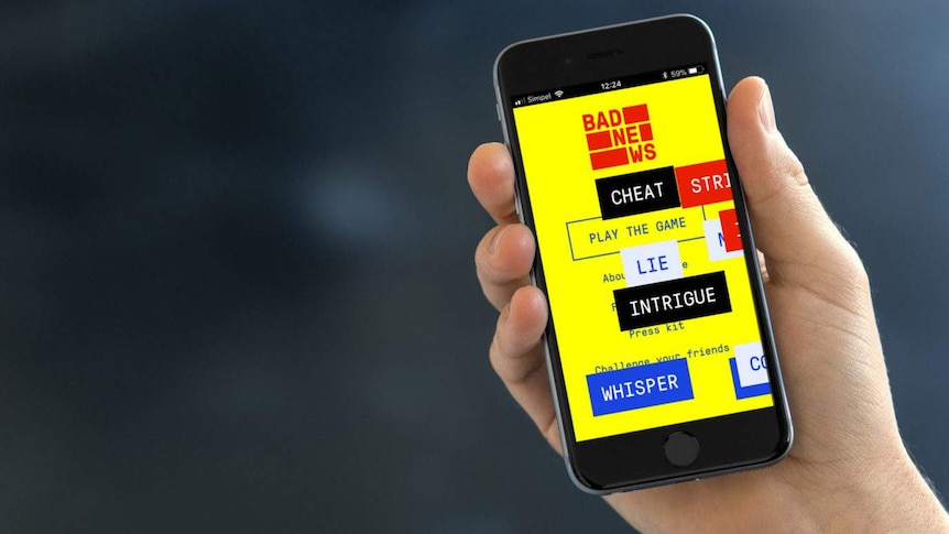 In the Bad News game, players take on the role of an aspiring fake news tycoon