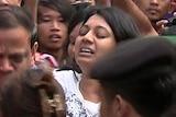 Family arrive in Cilacap