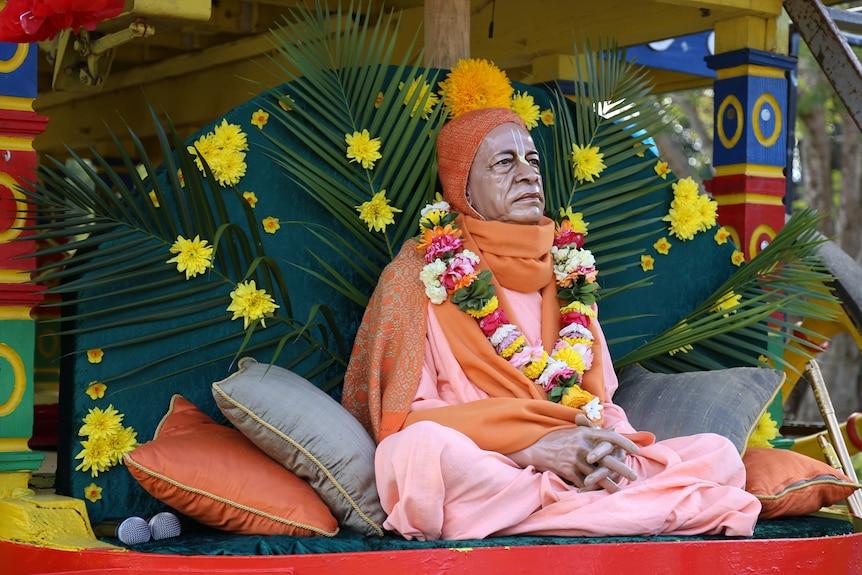 Hare Krishna statue of Bhaktivedanta Swami Prabhupada