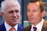 Composite image of Prime Minister Malcolm Turnbull and WA Premier Mark McGowan