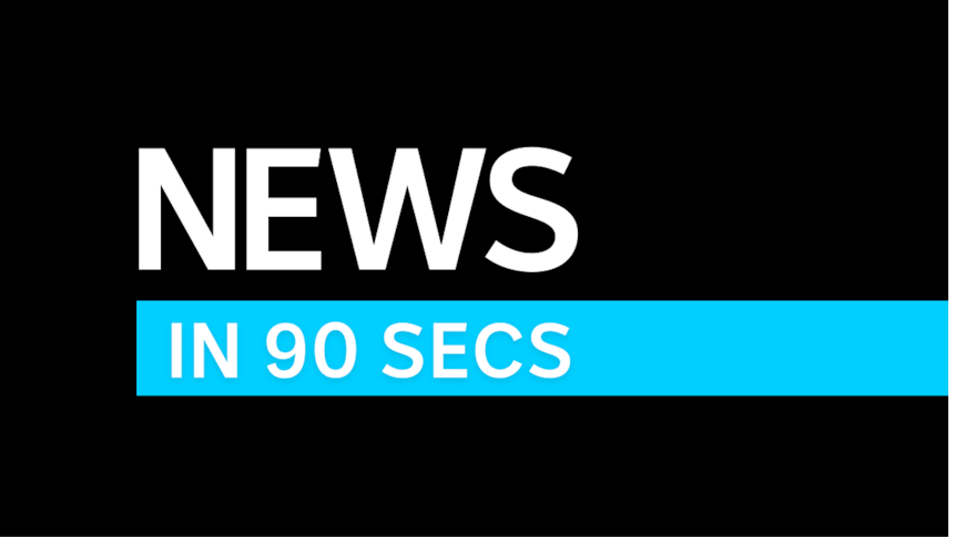 Play Video. News in 90 Seconds. Duration: 1 minute 39 seconds