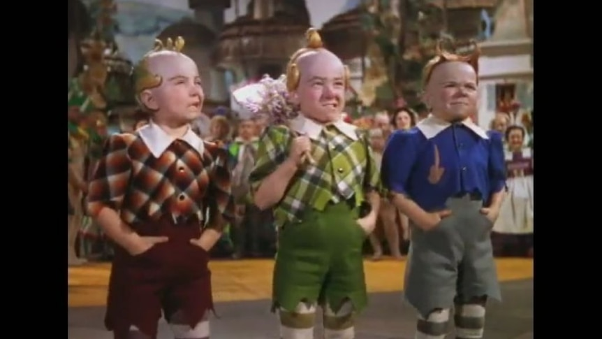 Jerry Maren played the green Lollipop Guild munchkin in The Wizard of Oz