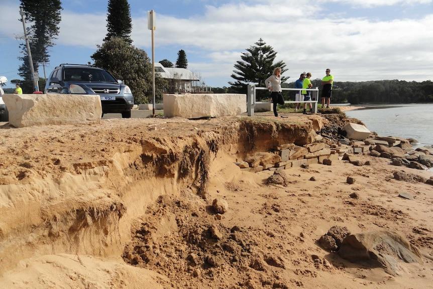 Avoca Beach erosion