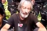 Robert Hall Hostage video still