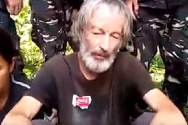 A video still of Robert Hall.
