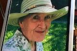 Framed photo of Fay Sherret