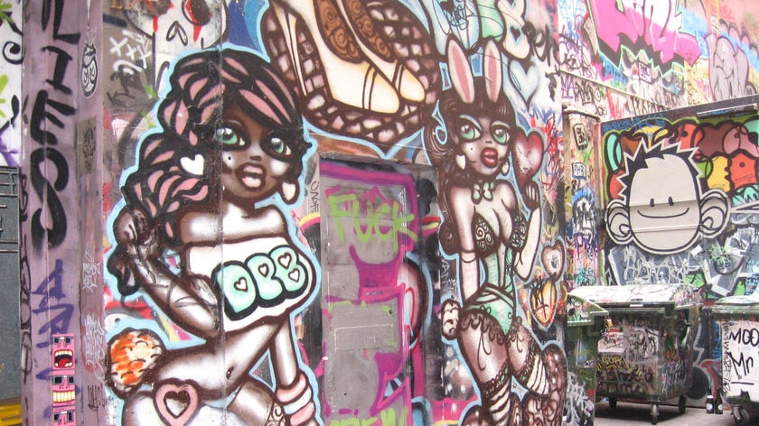 Some suggest councils backing graffiti protection may have real estate motives in mind.