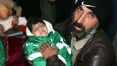 Palestinian child killed in Gaza attacks