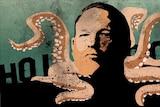 An illustration of Harvey Weinstein.