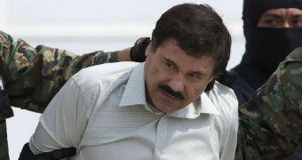 Custom image of El Chapo is arrested