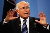 Taking over: Prime Minister John Howard