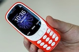 Nokia 3310 on show in London