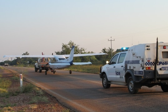 Plane towed away after emergency landing near Broome