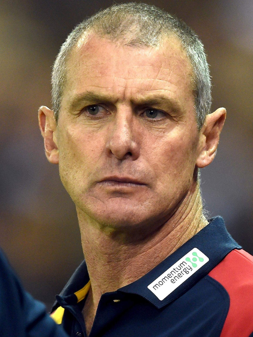 Adelaide Crows coach Phil Walsh