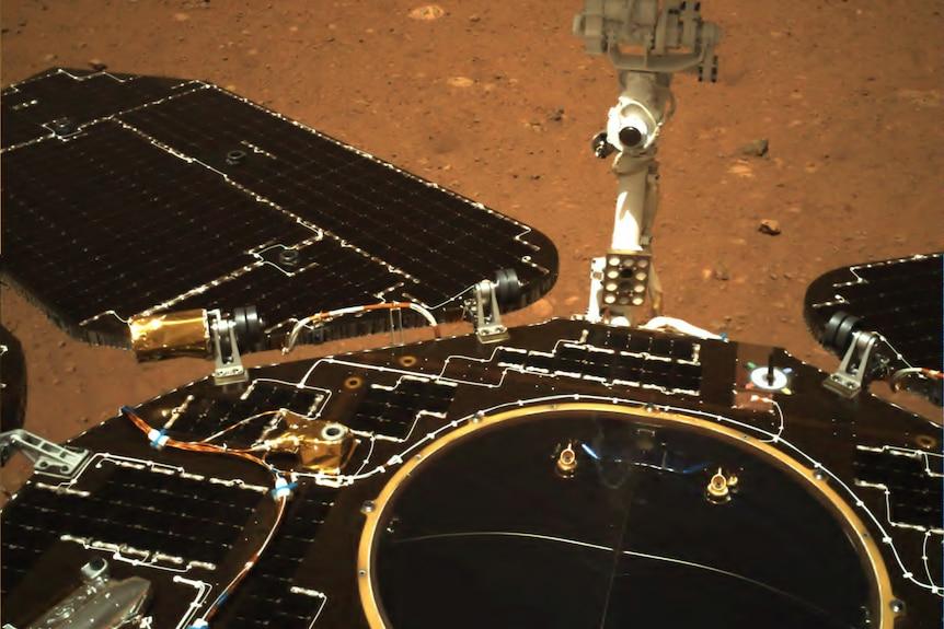 Imagen en color de China Mars Rover صورة