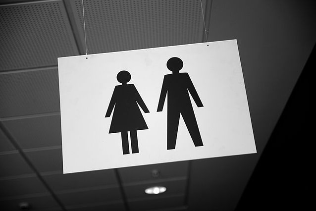 male female gender equality sign