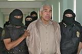 Rafael Caro Quintero under custody in Guadalajara in 2005.
