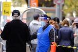 Melbourne coronavirus testing