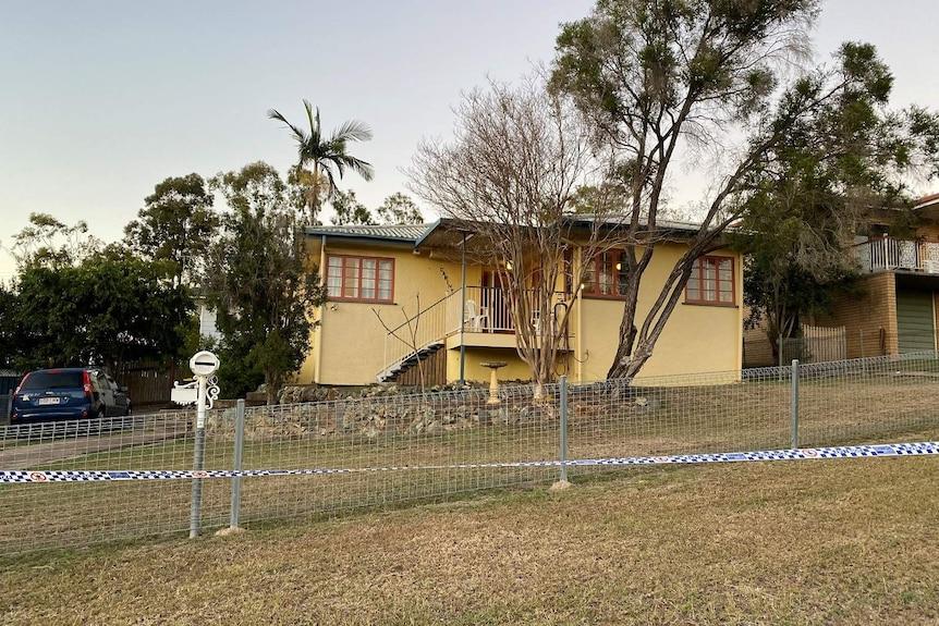 A fibro house in a suburban street
