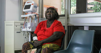 Dialysis patient Anne Marie Puruntatameri