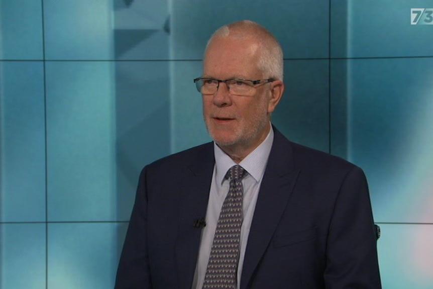 Justin Milne announces his resignation as ABC Chairman on 7.30