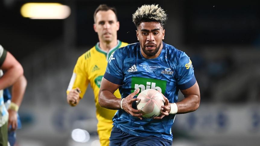 Blues beat Highlanders to claim Super Rugby trans-Tasman championship
